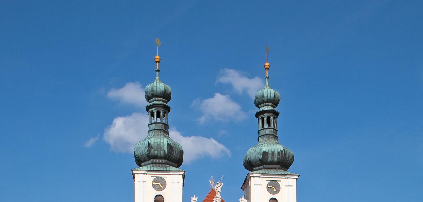 Frauenkirchen Kirchturmspitzen